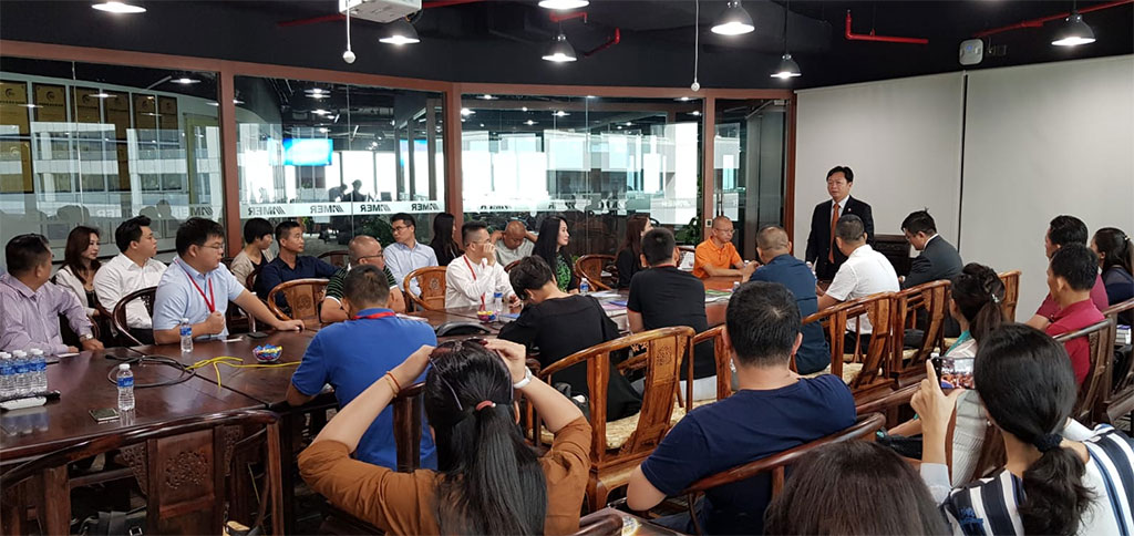 Visit and Networking by Hainan Youth Entrepreneur with HSBA Committee on 8 October 2018
